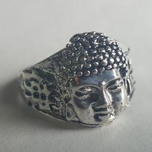 Tibet Buddha Ring Buddhism Retro Urban Vtg Size 9
